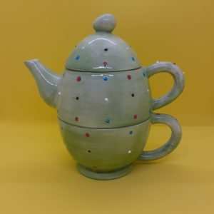 Stacking tea for one pot