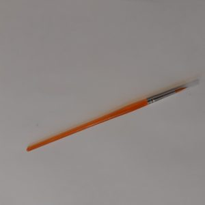Round paint brush for painting pottery