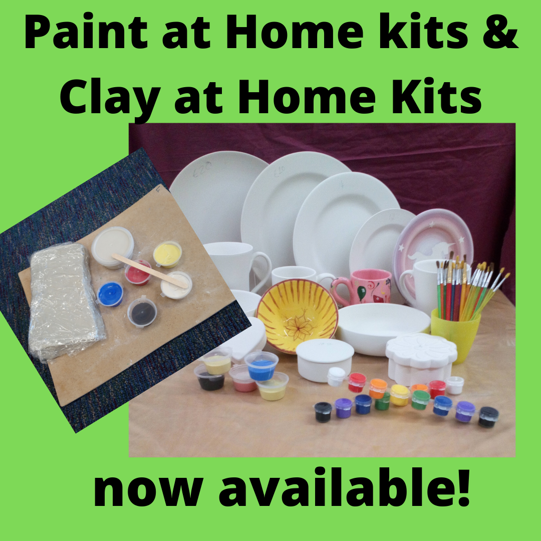 paint at home pottery kits