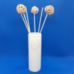 reed diffuser with heart design