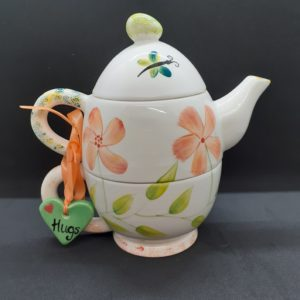 teapot for one orange