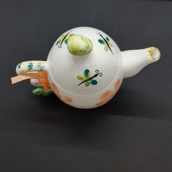 dragonfly lid teapot